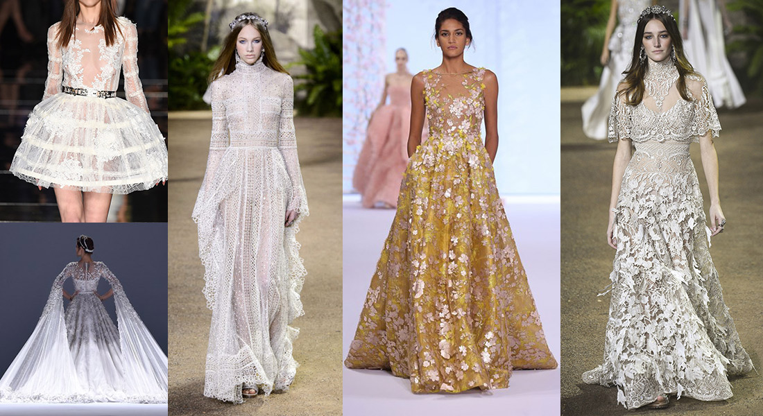 Couture Wedding Gowns: Wedding Dress Inspiration From The Couture Catwalks In