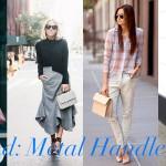 Trend: Metal Handle Bag